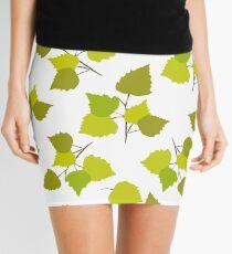 Birch leaves Mini Skirt