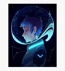 The Blue Paladin Photographic Print