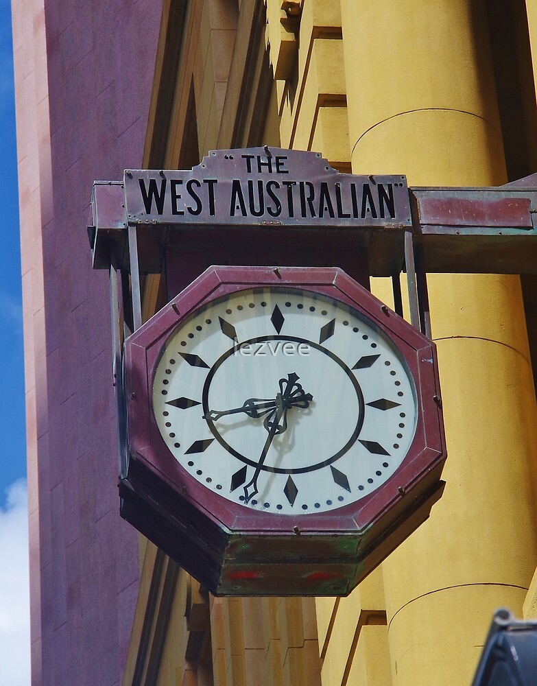The West Australian Clock by lezvee