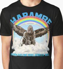Harambe - Gorilla Angel Graphic T-Shirt