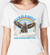 Harambe - Gorilla Angel Women's Relaxed Fit T-Shirt