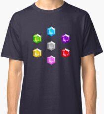 Sonic 2 Emeralds Classic T-Shirt