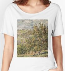 Claude Monet - Apple Blossom  Women's Relaxed Fit T-Shirt