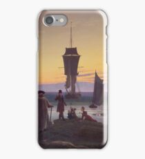 Caspar David Friedrich - The Stages Of Life  iPhone Case/Skin