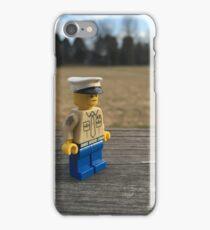 Brickography - USMC  iPhone Case/Skin