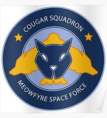 Cougar Squadron Poster