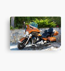 Ready to Harley? Canvas Print