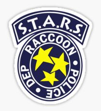 S.T.A.R.S. - RACCOON POLICE DEPT. - RESIDENT EVIL Sticker