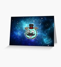 space sir poro Greeting Card
