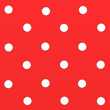 Dots Red & White by paintingsofi