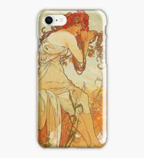 Alphonse Mucha - Summer 1896 iPhone Case/Skin