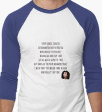 Top That with Polly Men's Baseball ¾ T-Shirt