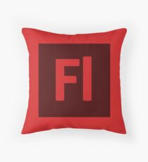 Flash (Adobe CS) Throw Pillow Throw Pillow