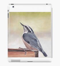 Red Breasted Nuthatch iPad Case/Skin