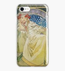 Alphonse Mucha - Princezna Hyacinta iPhone Case/Skin