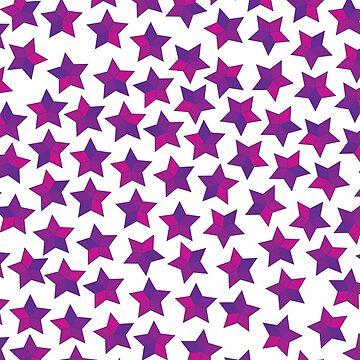 An Aura of Purple Stars by jordanva9412
