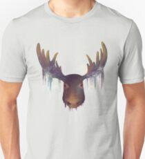 Moose Headshot Unisex T-Shirt