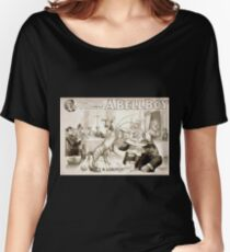 Performing Arts Posters Will F Phillips complicated farcical extravaganza A bell boy 1031 Women's Relaxed Fit T-Shirt