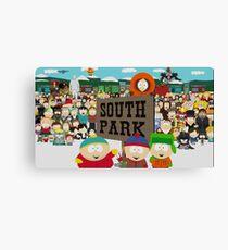 South Park 2016 Designs Canvas Print