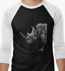 SAFARI PROFILE - RHINO BLACK EDITION Men's Baseball ¾ T-Shirt
