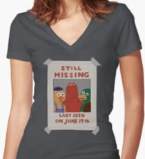 DHMIS - Missing *update* Don't Hug Me I'm Scared 3 Women's Fitted V-Neck T-Shirt