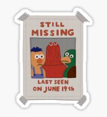 DHMIS - Missing *update* Don't Hug Me I'm Scared 3 Sticker