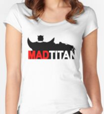 Mad Titan Women's Fitted Scoop T-Shirt