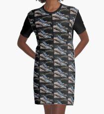 Crisp Overflow Graphic T-Shirt Dress