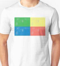 Han Solo Blueprint Tile Unisex T-Shirt