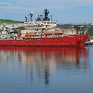 In Harbour at Bay Bulls, NL, Canada by Gerda Grice