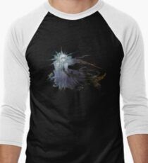 Final Fantasy XV logo grunge Men's Baseball ¾ T-Shirt