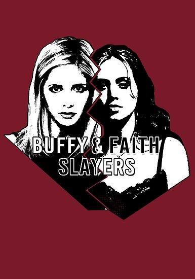 Buffy & Faith: SLAYERS by Vixetches