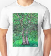 'Elm Trees' (Plein Air Painting) T-Shirt
