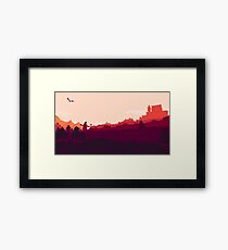 Whiterun Skyrim Framed Print