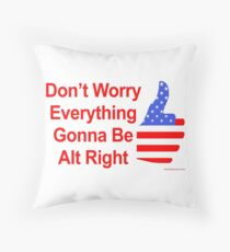 Alt Right Throw Pillow