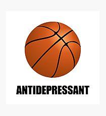 Antidepressant Basketball Photographic Print