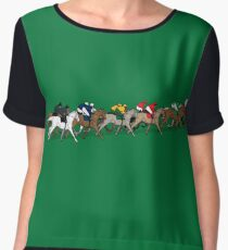 The Horse Race Chiffon Top