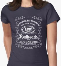 Redheads: 100% Trouble! by stlgirlygirl Women's Fitted T-Shirt