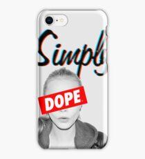 Cara Delevingne Simply Dope iPhone Case/Skin