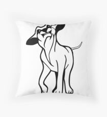 I LOVE MY DOGS_21 Throw Pillow