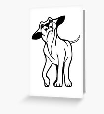 I LOVE MY DOGS_21 Greeting Card