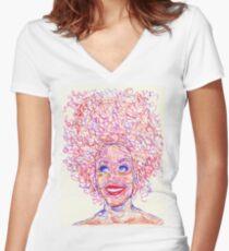 Jill Women's Fitted V-Neck T-Shirt