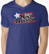 Future Ninja Warrior Men's V-Neck T-Shirt