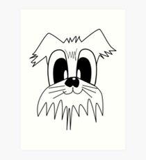 I LOVE MY DOGS_23 Art Print