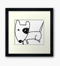 I LOVE MY DOGS_24 Framed Print