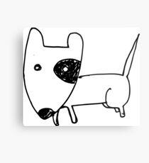I LOVE MY DOGS_24 Metal Print