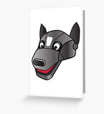 I LOVE MY DOGS_25 Greeting Card