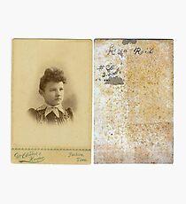 Lena Reid, Madison County, Tennessee Photographic Print