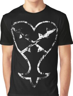 Kingdom Hearts Heartless grunge Graphic T-Shirt