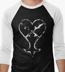Kingdom Hearts Heartless grunge Men's Baseball ¾ T-Shirt